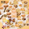 45 шт./упак. милые хлебное печенье кавайные этикетки набор Скрапбукинг наклейки для Журнал Планировщик поделки своими руками и Скрапбукинг д...