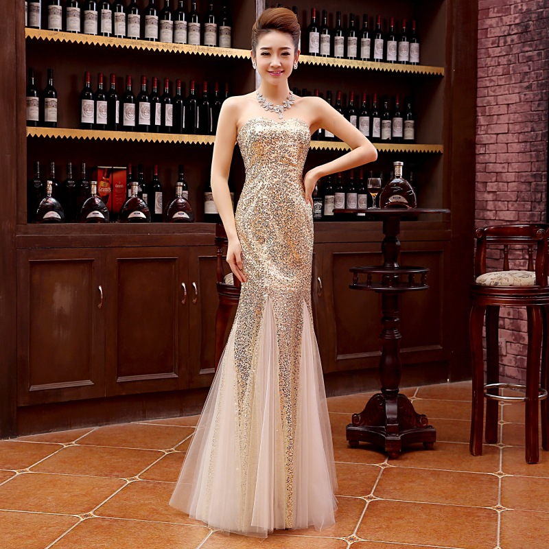 Dress sexy Lace  long women dress sequin dresses party night club 2018