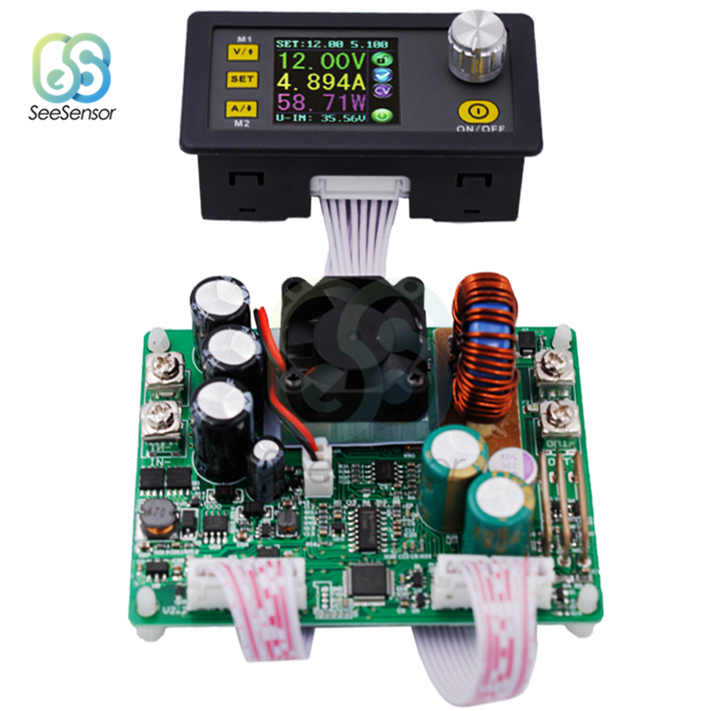 <font><b>DPS5015</b></font> 50V <font><b>15A</b></font> Constant Voltage Current DC Step Down Power Supply Module Buck Voltage Converter LCD Voltmeter Ammeter Wattmeter image