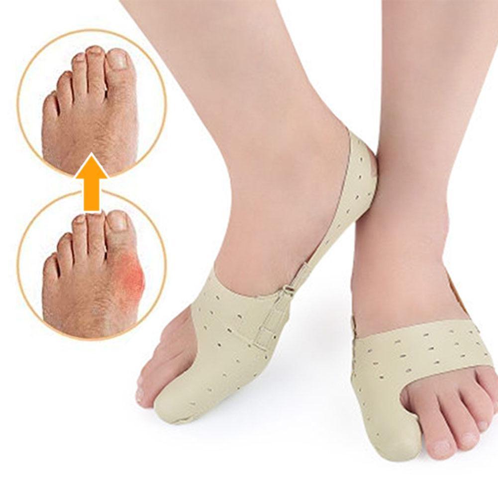 1Pc Bunion Toe Separator Corrector Straightener Brace Hallux Valgus Orthosis Pain Relief Support Hallux Valgus Orthopedic Correc