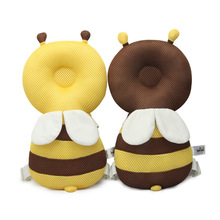 Baby Anti-drop Cushion Head Protection Cushion/Toddler Headrest/Baby Cute Wings Animal Shape Pillow Dropship