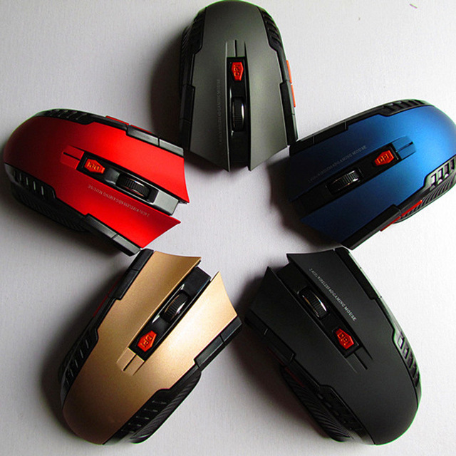 2020 Best Sellers Game mouse 2.4GHz Wireless Mice With USB Receiver Gamer 1600DPI Mouse For Computer PC Laptop Super Slim Mouse
