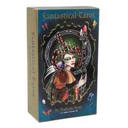 Fantastical Tarot 78 Cards Natalie Hertz Out of Print Beautiful 78 Cards Highly Stylized Unique Spiritually Influenced Deck Card