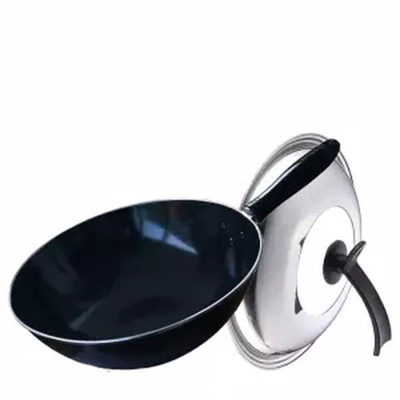 Wok Enamel Pot Cooking Pot Cooking Pan Grill Smokeless Frying Pan Cookware Kitchen Pots Egg Pan Pancake Pan Pancake Pan