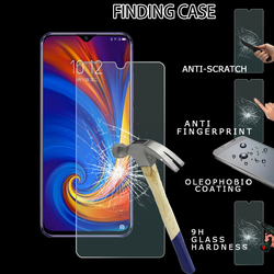 На Алиэкспресс купить чехол для смартфона 9h tempered glass screen protector anti-fingerprint suitable for lenovo k6 enjoy/z5s/z5s/z6 youth edition glass film