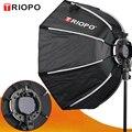 Восьмиугольный зонт-софтбокс TRIOPO KS65CM KX65CM софтбокс для Godox AD200 V1 yongnuo Flash светильник аксессуары для фотостудии