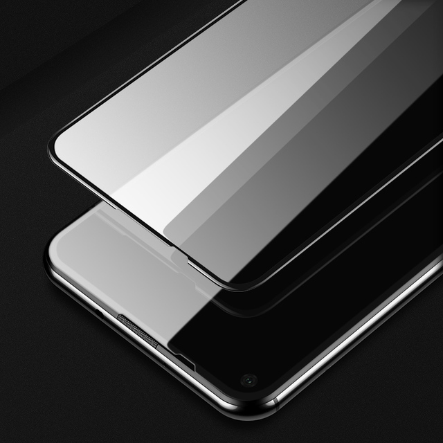 SUPCASE 3D Curved Tempered Glass Screen Protector for Huawei Nova 5T Honor 20 Support in-Screen Fingerprint ID Screen Protector