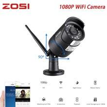 ZOSI 1080P Wireless Surveillance Camera Onvif 2MP Mobile Outdoor Indoor WiFi IP Camera IR Night Vision Waterproof Motion Alarm