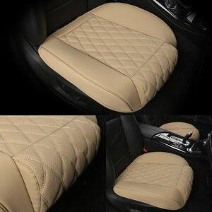 Image 1 - กันน้ำที่นั่งรถหนังUniversalรถยนต์ด้านหน้าเบาะรองนั่งProtector Mat PadสำหรับรถบรรทุกSuv Van