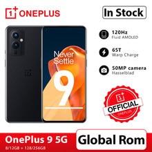 Global rom oneplus 9 5g snapdragon 888 8gb 128gb smartphone 6.5 fluid fluid 120hz fluido amoled hasselblad câmera oneplus loja oficial
