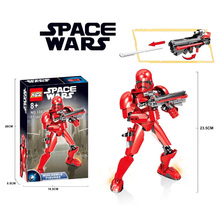 2019 New Star War The Last Jedi Buildable Action Figure Rey Kylo Ren Luke Skywalker Building Block Toy compatible with legoingly original bandai tamashii nations s h figuarts shf action figure elite praetorian guard heavy blade sw the last jedi
