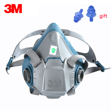 3M 6502/6502QL Respirator Spray formaldehyde Protection Rugged Comfortable and Fast Half Facepiece Reusable Genuine