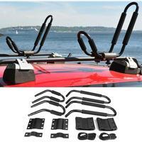 Kayak porte-bagages ensemble canoë bateau Surf Ski toit support de barre de montage voiture SUV barre transversale Kayak toit support Auto accessoires