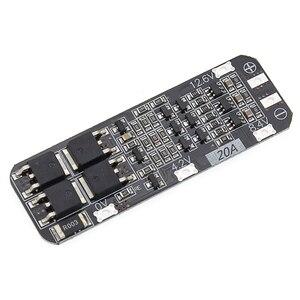 Image 2 - 50 قطعة 3 ثانية 20A ليثيوم أيون بطارية 18650 شاحن PCB BMS لوحة حماية 12.6 فولت خلية 59x20x3.4 مللي متر وحدة