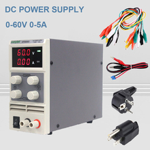 цена на 4 Pcs wanptek KPS605D mini switching DC power supply  60V 5A Single Channel adjustable SMPS Digital