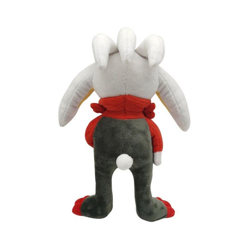 1pcs 28cm TAKARA TOMY Pokemon Scorbunny  Plush Toys Soft Stuffed Animals Toys Doll Gifts for Children Kids 4