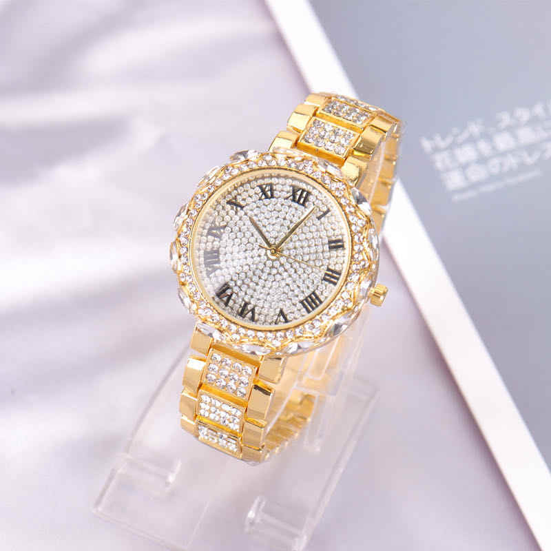 2020 Explosion starry steel band diamond watch