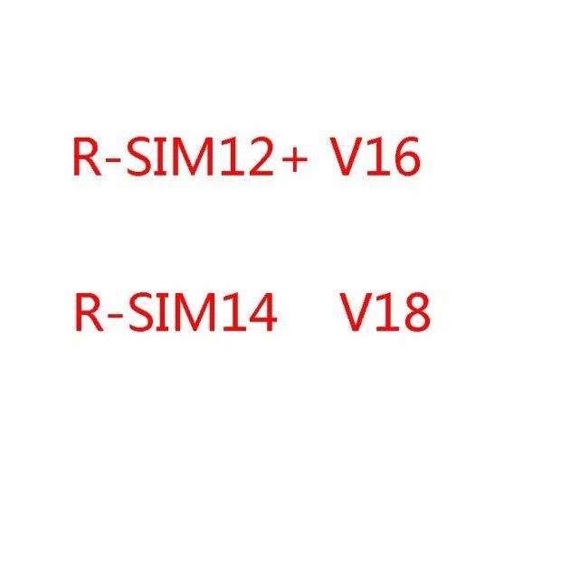 R-SIM14 V18/12 Plus V16 Unlock RSIM Card Adapter Smart Phone Accessory For IPhone 11, 11 Pro, 11 Pro Max Xs Max, XR, XS, X, 6, 7