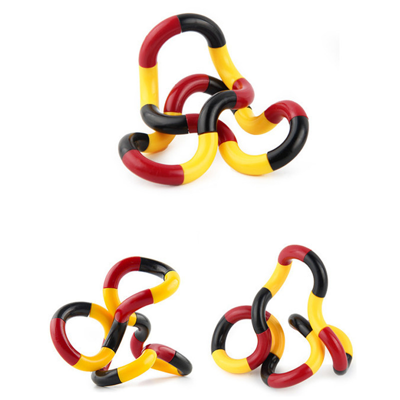 Trick-Rope Fidget Stress Relief Magic Creative 4-Colors DIY for Kid Xmas-Toy Twisted-Ring img3