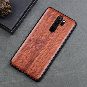 Image 5 - For Xiaomi Redmi note 8 pro Case Slim Wood Back Cover TPU Bumper Case On Xiaomi redmi note 8 Pro Xiomi redmi note 8 Phone Cases