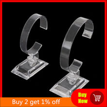 1Pc Clear Acryl Armband Horloge Display Houder Stand Rack Retail Winkel Showcase