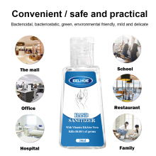 30ML Waterless Hand Sanitizer Mini FoamHand Sanitizer Scented Disposable No Clean Travel Portable Clean Moisturizing Safe Gel