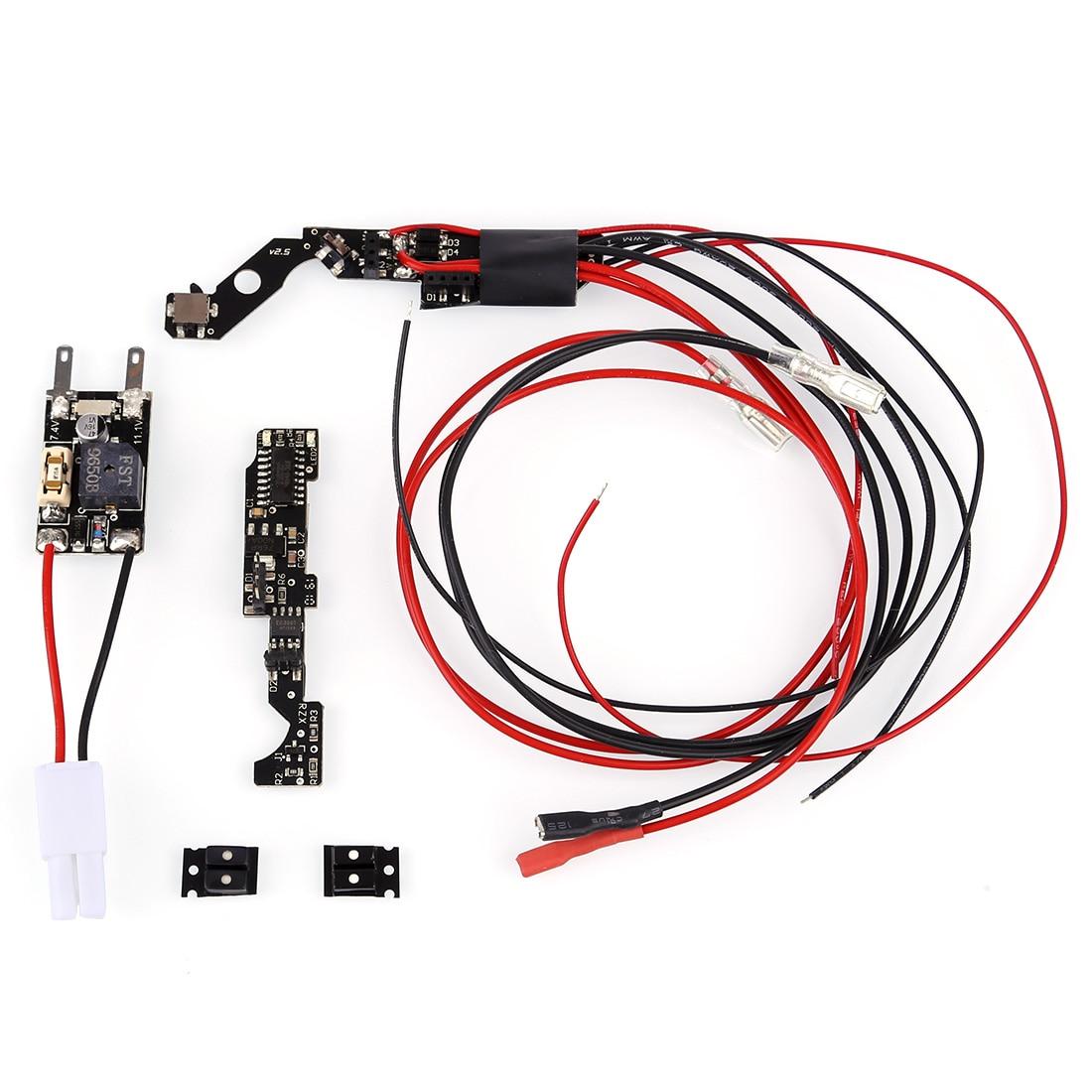 Rowsfire 1Pcs StrikeMaster Ⅲ Electronic Fire Control Unit Module Chip For JM J11-AK47 Tactical / RX AKM Water Gel Beads Blaster