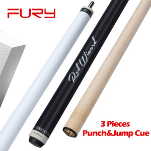 FURY Jump Break Cue EA Billiard Punch&Jump Cue Stick 55'(China)