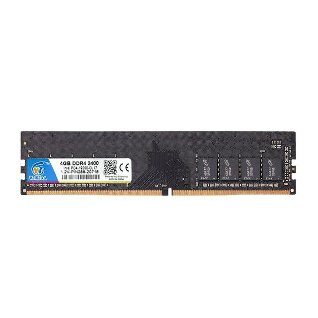 VEINEDA DDR4 8GB ddr 4 4gb PC Память ram Memoria модуль настольный компьютер 1,2 V напряжение NON-ECC PC4 4g 8g 3