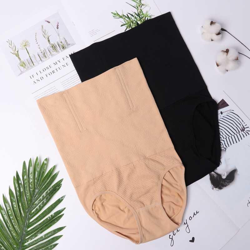 Calcinha alta, calcinha feminina de cintura alta para mulheres respirável, molda a forma, diminui a barriga, levanta o bumbum sem costura