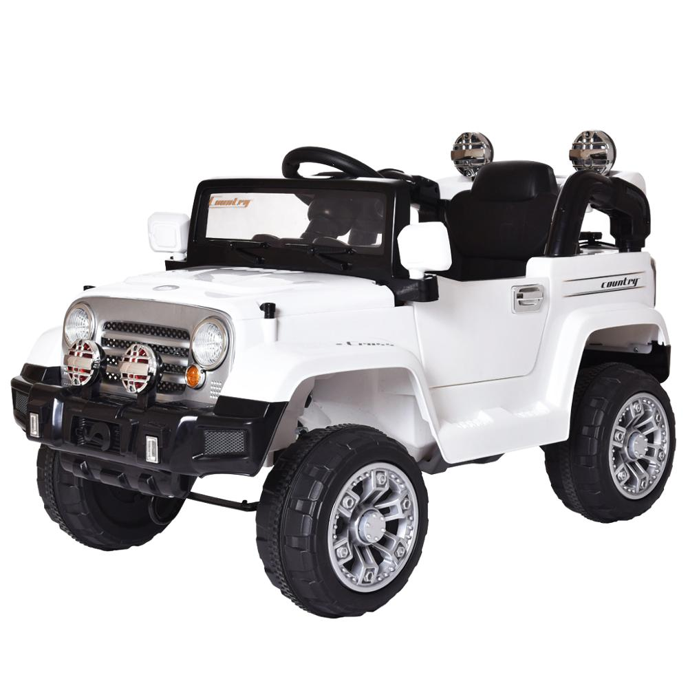 12V Kids Ride On Truck Four-wheel Drive Electric Car 1-5 Years Children  Riding Toy Off-road Vehicle With Pneumatic Wheel TY0454