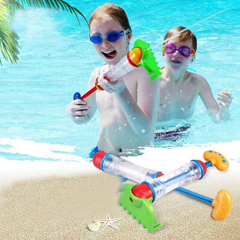 Funny Baby Kids Swimming Pool Sand Set Water Beach Spraying Cannon Water Fight Blaster Rake Shovel Bath Toys