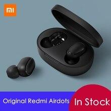 Оригинальный Xiaomi Редми Airdots беспроводные наушники голосового управления Bluetooth 5.0 шумоподавление управление краном