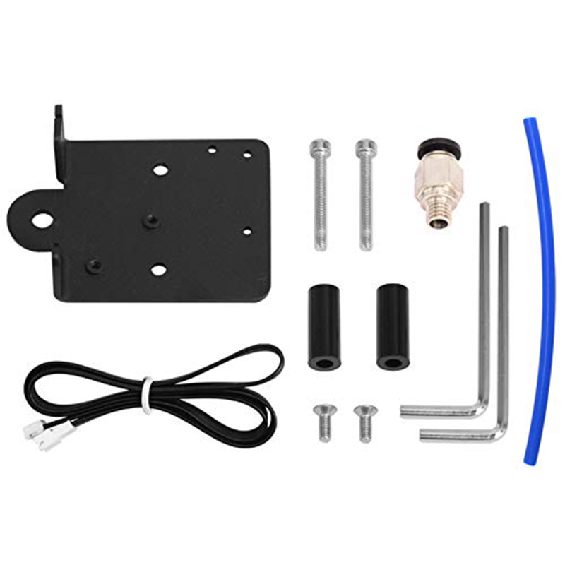 Direct Drive Extruder Conversion Kit for Creality CR10 Ender-3 3D Printers, Aluminum Alloy Direct Extruder Adapter