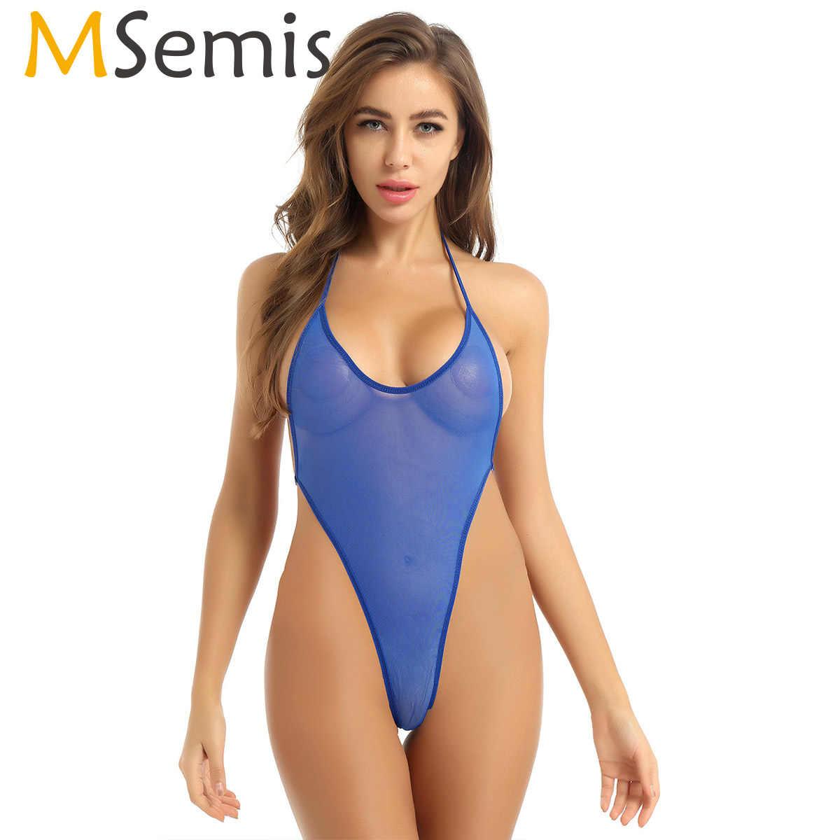 Women/'s Strappy Bikini Micro G-string Thong Lingerie Underwear Bodysuit Swimwear