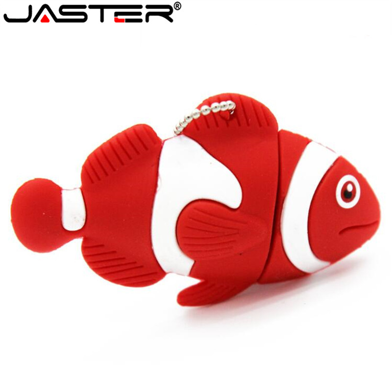 JASTER Animal USB Flash Drive Pen Drive Cute Goldfish Memory Stick