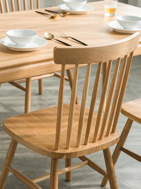 Windsor Backrest American Dining Chair 4