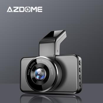 Original AZDOME M17 Dash Cam 1080P HD Night Vision ADAS Car Dashcam WiFi DVR Dual Lens Car Camera 24H Parking Video Recorder