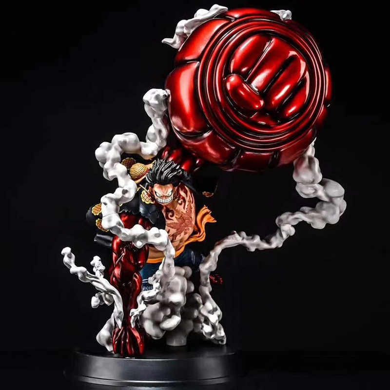 15inch Anime Monkey·D·Luffy Fourth Gear PVC Figure Toy Collectible Gift Big Size