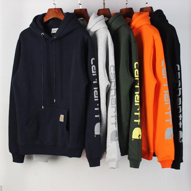 Sudadera con capucha para hombre, de algodón, estampada, holgada, informal, de calle, novedad, primavera y otoño, 2021