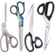 Krawiectwo nożyce stalowe nożyczki nożyczki do szycia narzędzia cięcia rzemiosło Cross Stitch nożyce do cięcia odzieży profesjonalne nożyczki