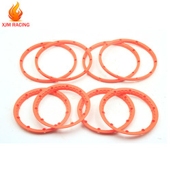 Plastic Wheel Hub Beadlock Ring Kit for 1/5 HPI ROFUN BAHA KINGMOTOR ROVAN BAJA 5B SS RC CAR RACING TOYS PARTS