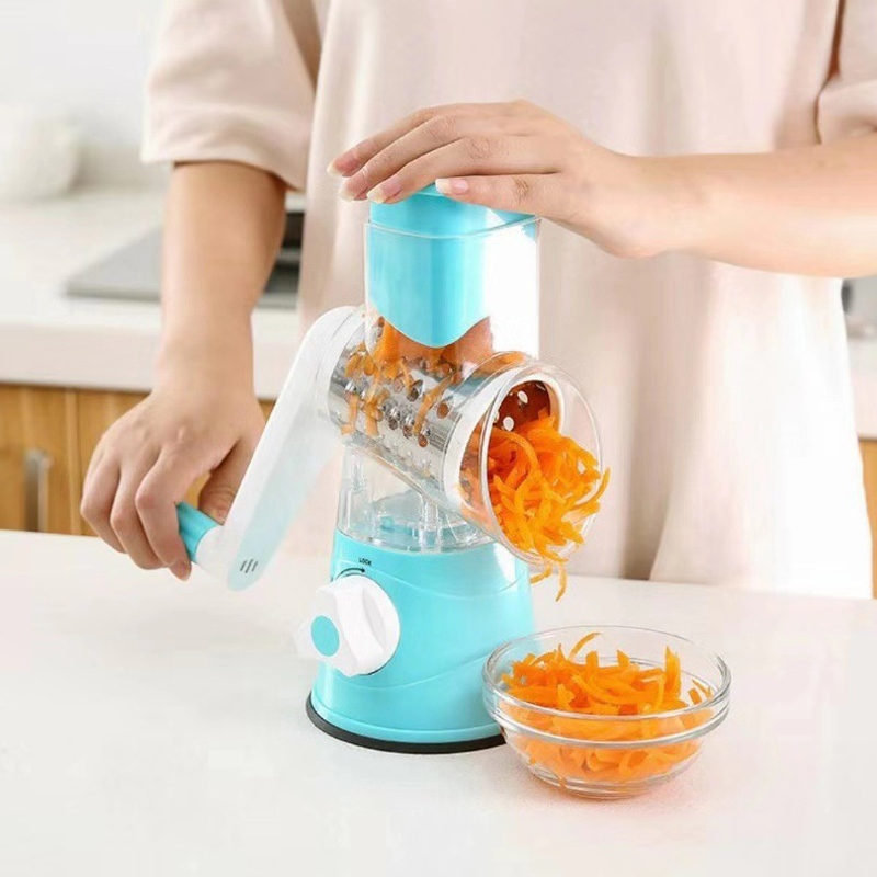 3 1 In Multifunctional Manual Vegetable Brushes fruit Slicer onion Cutter Kitchen knives tools cuisine Gadgets Accessories