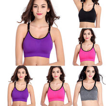 ARLONEET Woman No Steel Ring Bra Beauty Back Bra Ladies Yoga Running Sports Underwear# 25(China)