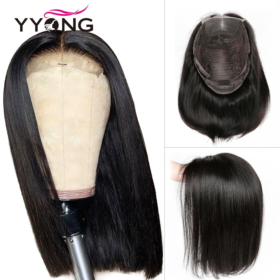 Yyong-4x4-Lace-Closure-Wigs-Blunt-Cut-Bob-Wig-Peruvian-Straight-Hair-Lace-Closure-Wigs-For