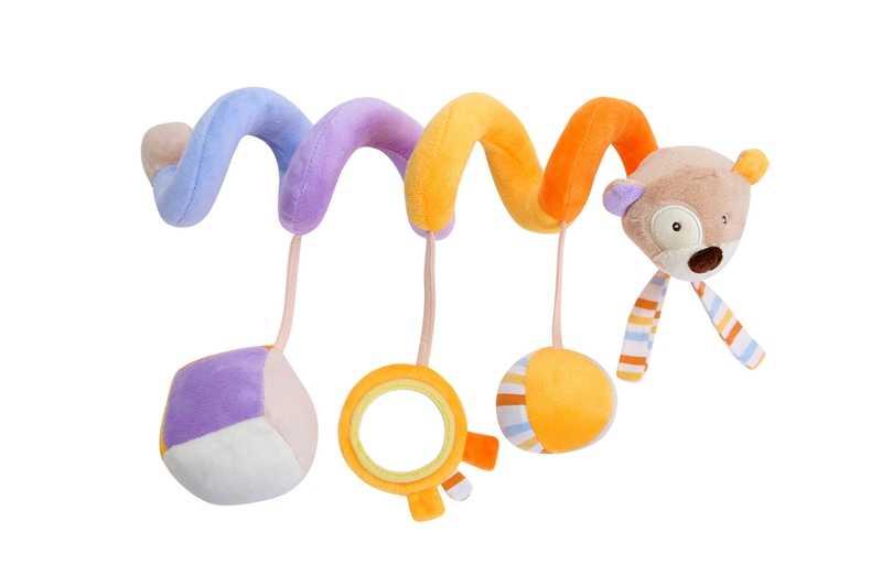 Rattles สัตว์ Bed Bell ของเล่นเด็ก 0-12 เดือนของเล่นเด็กมือถือสำหรับทารกแรกเกิดเปลบนเตียงรถเข็นเด็กเด็กของเล่นเพื่อการศึกษา