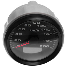 0-120km/H Meters Speed-Gauges Motorcycle 85mm Car GPS for Yacht Truck 9-32V 8-Color-Light