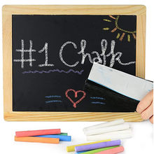 Children's drawing board chalk dust-free color rough chalk Kids Pavements Sticks Assorted Colours Art Floor Chalks Dropshipping(China)