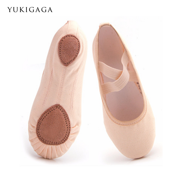 2019 Adult Canvas Ballet Dance Shoes Yukigaga Yoga Slippers Gym Slippers Pointe Gymnastics Free Shipping