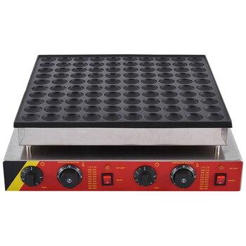 Commercial Pancake Maker Non-stick Maker  Mini Waffle Baker Machine 1PC NP-545 110V/ 220V 3200W,Waffle Size 45 * 45 * 10mm 3